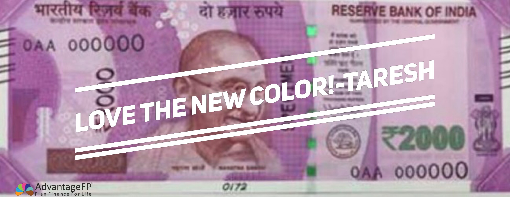 What's the color of your money?