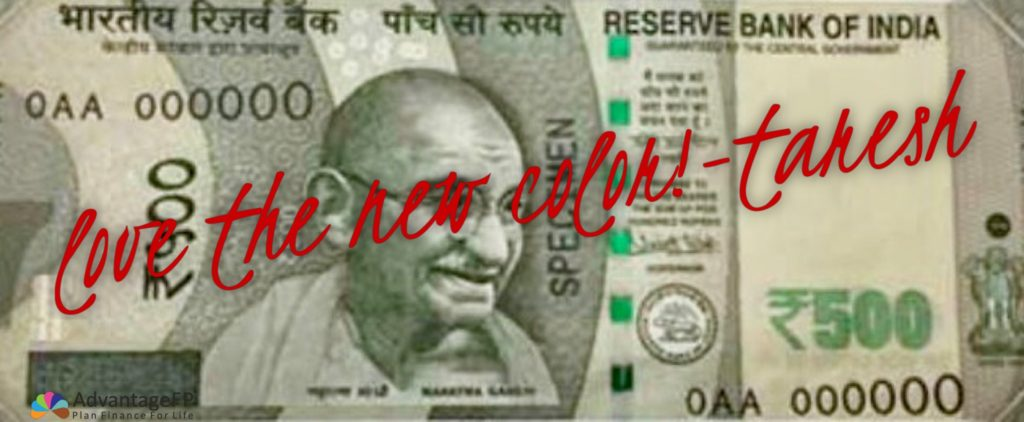 Top 10 things to happen in the light of the reserve bank changing the colors of the rupee notes: and find out if It's Black or White Money!